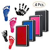 Baby Stempelkissen Fuß oder Hand Abdruckset Handabdruck Fußabdruck wiederverwendbare für Babys...