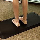 Flexispot MT1B Antimüdigkeits Komfortmatte Steh-Bodenmatte ergonomische Matte für Arbeitsplätze...