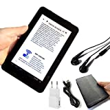 OIUYT 7inch LCD-Bildschirm E-Book-Reader Smart HD augensicheren Display WiFi digitaler Player mit...