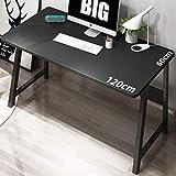 MLECA Computertisch Einfach Schreiben Modern Konferenztisch Robust und langlebig PC-Tisch Geräumig...