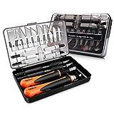 Holz-Schnitzwerkzeug Set, TACKLIFE 18tlg. Schnitzmesser, ideales Holzschnitzerei Messer für...