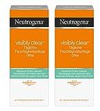Neutrogena Visibly Clear Tägliche Feuchtigkeitspflege Ölfrei – Klärende Feuchtigkeitscreme mit...