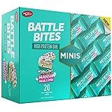 Battle Bites Minis High Protein und Low Carb Riegel 31g (20 Stück) (White Chocolate Toasted...