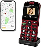 Easyfone Prime-A4 Smart Seniorenhandy ohne Vertrag (mit SOS-Funktion, GPS, Farbdisplay 2,31 Zoll,...
