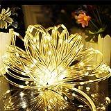 SCLL Fairy Lichterketten, 200 LEDs Kupferdraht-Lichter, wasserdicht Dekoration für...
