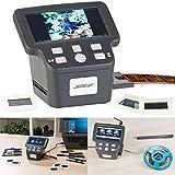 Somikon Negativscanner: Stand-Alone-Dia-, Negativ- & Super-8-Scanner, 12,5-cm-Farbdisplay (5')...