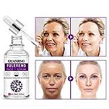 CawBing Fulleren-Gesichtsserum Anti-Falten Antioxidans Feuchtigkeitsspendend Anti-Aging Hautton...