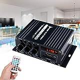 ILS - AK370 400W DC 12V / 220V AC Fernbedienung Bluetooth-HiFi-Start Auto-Stereoverstärker...