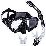 Supertrip Premium Schnorchelset Erwachsene Taucherbrille mit Schnorchel Tauchset Tauchmaske mit...