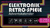 FRANZIS Elektronik Retro Spiele Adventskalender 2020   24 Spiele der 70er und 80er zum Selberbauen...