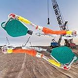 Aocay Höhensicherungsgerät, Absturzsicherung Einziehbar für Dachdecker, Fallschutzausrüstungen...