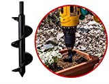 Rost-Nachweis Anti-Rutsch-Bohrer Bohrer for Garten Digger Werkzeug Garten Gras Stecker Pflanze...