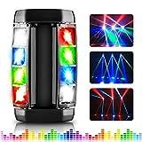 AGPTEK Spider Moving Head Licht LED Bühnenlicht DJ Beleuchtung RGBW 4 in1 Partylicht Spider Lights,...