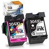 Starink Druckerpatrone Remanufactured Kompatibel für HP 304XL 304 XL für HP Deskjet 2620 2630 2632...