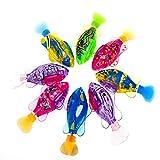 4er Pack Schwimmroboter Fisch, Schwimmroboter Fischspielzeug Für Kinder Mit LED-Licht - Leichte...
