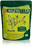 Bio Hagebuttenpulver 1kg Premium selektierte Hagebutten, Natürliche Vit. A, E, C und Ca, Mg -...
