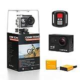 ICONNTECHS IT Action Cam 4K 30fps 20MP Wasserdichte Sport Action Kamera fr Tauchen WiFi 170 Grad...