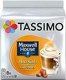 TASSIMO Maxwell House Macchiato Caramel Kaffee Kapseln Pods 10er Pack, 80 Getränke