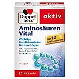 Doppelherz Aminosuren Vital  Nahrungsergnzungsmittel mit 12 Eiwei-Bausteinen, darunter alle 9...
