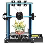 GIANTARM Geeetech A10T 3D-Drucker mit 3 in 1 out Mix-Color-Druck, Integrierte Gebudebasis,...