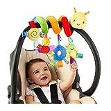 BSTiltion Babyschale Spielzeug, Baby Activity-Spirale Kette Kinderwagen Spielzeug Mädchen Junge...