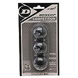 3x Dunlop Squashblle Farbe : GELB