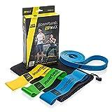 Let's Bands Powerbands Set MAX – Fitnessbänder für effektives Ganzkörpertraining, 60-tägiges...