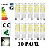 C-star G9 LED Lampen 5W 400LM warmweiß Umweltfreundliche Lampe Ersatz für 40W Halogenlampen...
