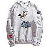 Sweatshirt Sesamstrasse KAWS Co Pullover XX Face Limited Boy Langarm Herren und Damen Liebhaber,...