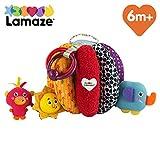 Lamaze Baby Spielzeug Greif- & Versteckball - Activity Motorikspielzeug mit Ringen zum Beißen,...