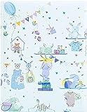 Goldbuch Babytagebuch Wonderland blau