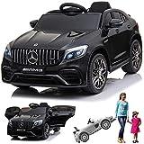 SIMRON Mercedes-Benz GLC 63s AMG Cabriolet Ride-On 12V Elektro Kinderauto Kinderfahrzeug Kinder...