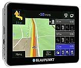 Blaupunkt TravelPilot 53 CE LMU - Navigationssystem mit 12,7 cm (5 Zoll) Touchscreen-Farbdisplay,...