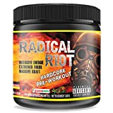 Pre Workout Booster Radical Riot V3-340 g I Fitness Booster I Trainingsbooster I Bodybuilding I...