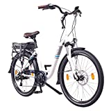 NCM Munich 26' E-Bike City Rad, 250W, 36V 13Ah 468Wh weiß