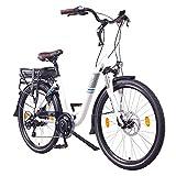 NCM Munich 28' E-Bike City Rad, 250W, 36V 13Ah 468Wh weiß