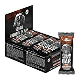 Vegan 3K Protein Bar nu3 – Veganer Eiweißriegel mit Double Chocolate Geschmack - 12 x 65 g High...