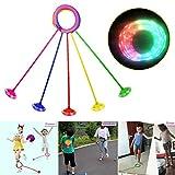 PTLAWS LED-Blitz Knöchel-Sprung-Ball-springendes Spielzeug Knöchel-Ball-Spielzeug für Erwachsene...