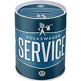 Nostalgic-Art Retro VW Service-Spardose, Geschenk-Idee für Volkswagen-Fans, als Sparschwein aus...