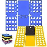 AMZMUKAUP 2 x Faltbrett für Wäsche, Hosen Hemden Wäsche Kinder und Erwachsen-Faltbrett Falthilfe...