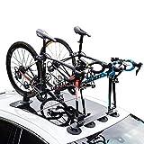 ZLMFBMStomsHan Fahrradträger auf dem Dach zum Tragen von 1/2/3 Fahrrädern,...