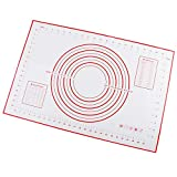 TIGOWL Tisch Silikon Backmatte Dove Roll Und Cut Mat Pizza Dove Fonte Kuchen Gebäck Werkzeug 60 *...