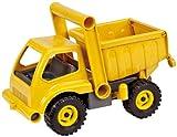 Lena 4210 EcoActives LKW Kipper, Baustellenfahrzeug ca. 27 cm, robuster Kipplaster, natürlicher...