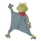 SIGIKID 41352 Schnuffeltuch Frosch Green Mädchen und Jungen Babyspielzeug empfohlen ab Geburt...