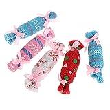 Vektenxi Katzenspielzeug, für Weihnachten, Süßigkeiten, Katzenminze, interaktiv, lustig,...