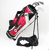 GOLFSET KINDER Kids 9-12 Jahre - GolfBag + 4 Golfschläger + Zubehör Eisen 6/7, 8/9 SW, Putter, 9...