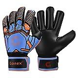 Gonex Torwart Handschuh Fußball Herren Erwachsene Damen Torwarthandschuhe mit Fingersave GK Gloves...