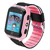 Kinder Smartwatch Telefon, Handy Uhr für Kids, mit Anti-verlorener GPS Ortung Tracker, Rufen, SOS,...