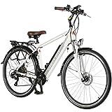 AsVIVA E-Bike 28' Trekkingrad Unisex, CityBike (14,5Ah Samsung Akku), 21 Gang Shimano Schaltung,...