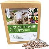 Nature Power Pellets 100% Schafwollpellets 500g / 0,5kg Biologischer Naturdünger Universal...